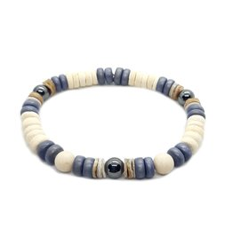 Armband Natural Colors - Denim Blue