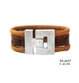 B & L Armband Robuust Leder BL 4257