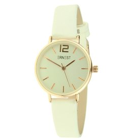 Ernest Horloge Cindy Mini White - Rose Gold