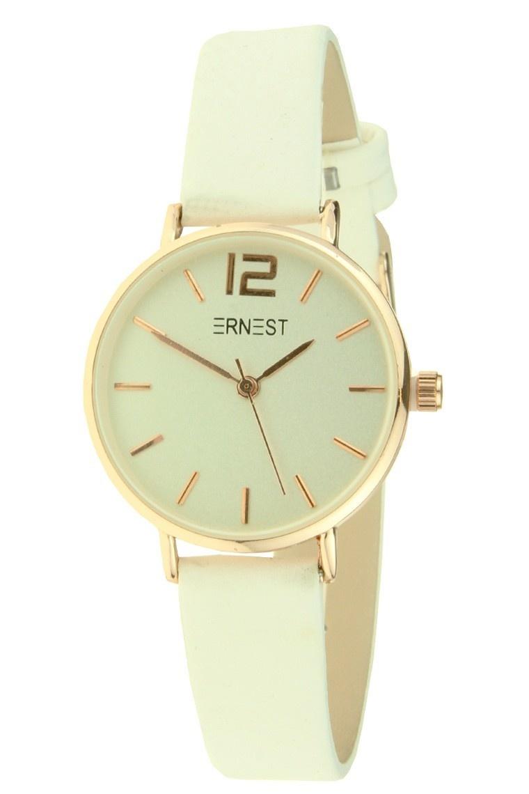 Ernest Horloge Cindy Mini White - Rose Gold