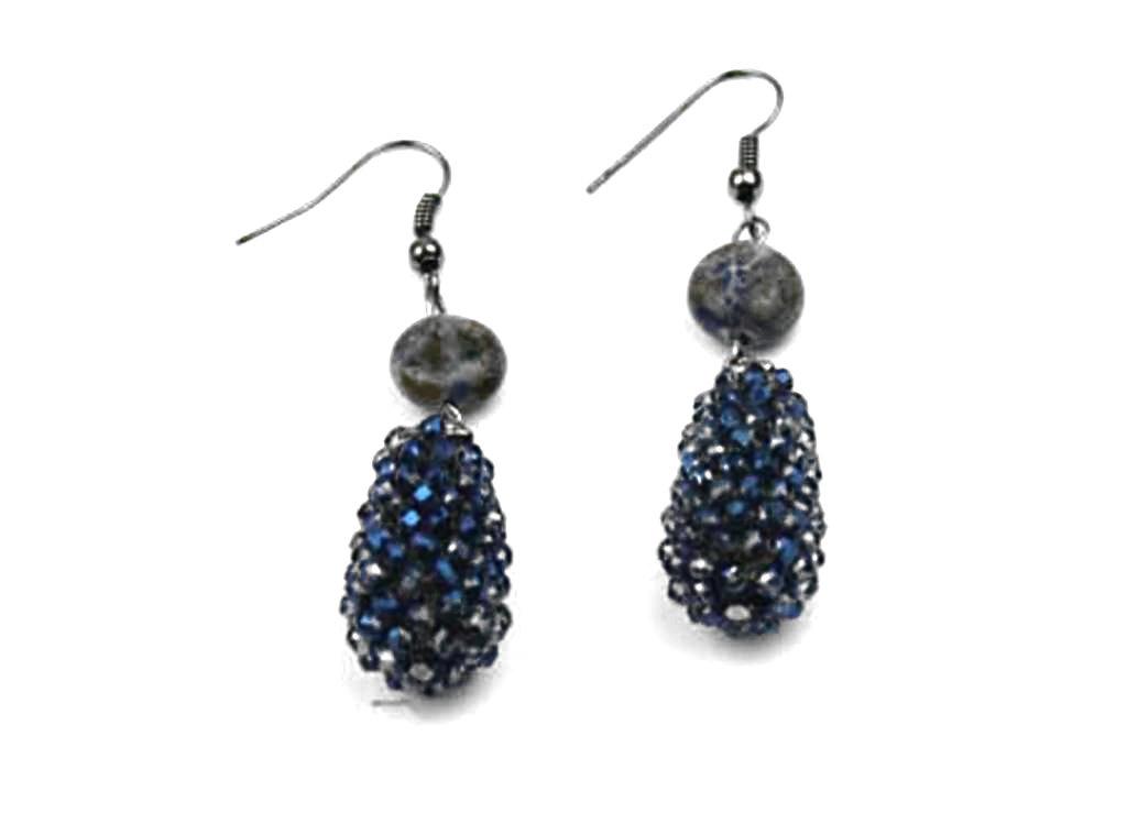 Oorbellen Blue Drops
