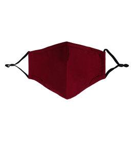 Mondkapje Bordeaux Rood