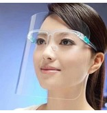 Gezichtsscherm Bril * Spatmasker * Face Shield