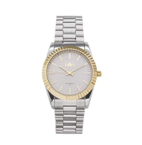 IKKI Horloge Bronx, BX06, 32mm, Silver-Gold