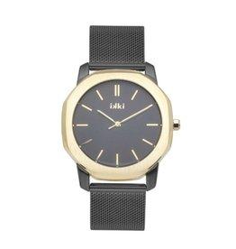 IKKI Horloge VANCE VC06, 40 mm Black-Gold