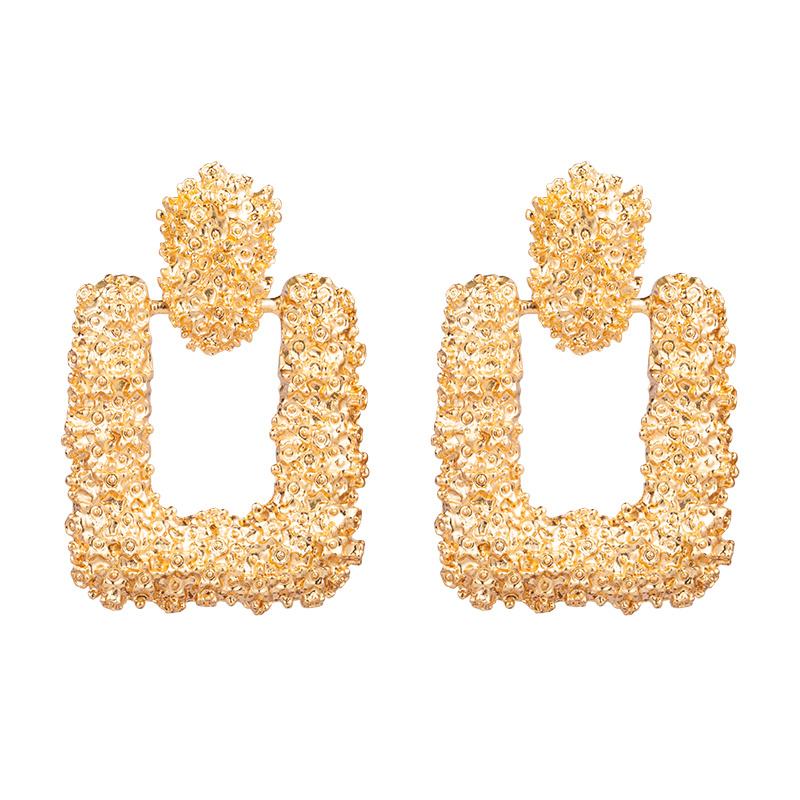 Oorbellen Golden Rocks XL