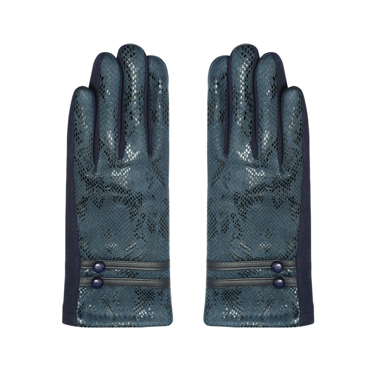 Dames Handschoenen Blue Serpent
