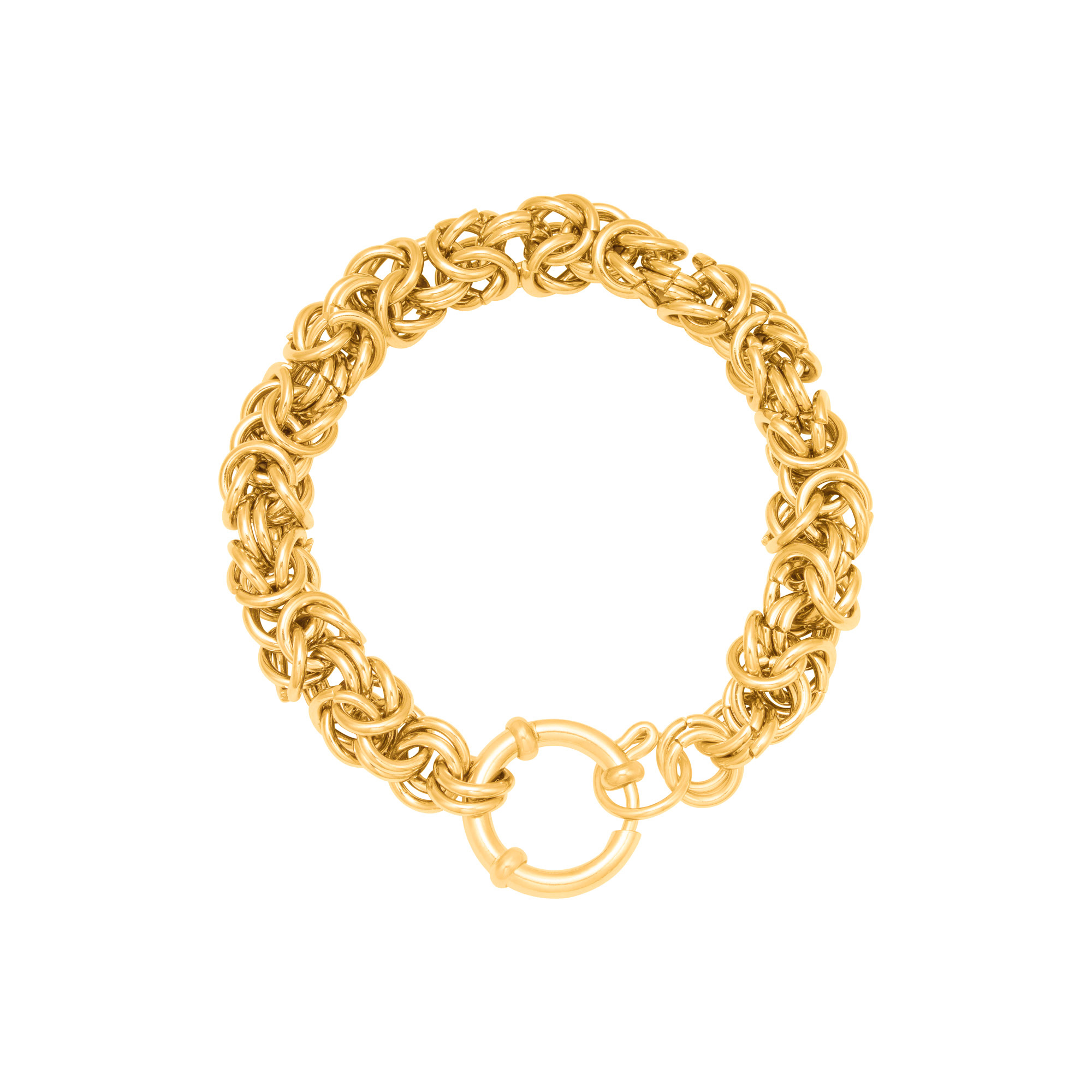 Armband Queen Stainless Steel Gold Plated