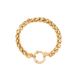 Armband Quiny Stainless Steel Gold Plated