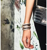 Armband Stainless Steel Rose Plated