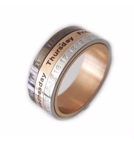 Ring Kalender Stainless Steel 316L