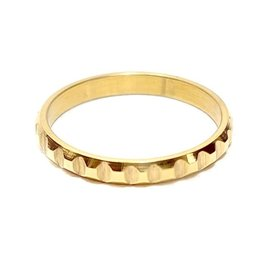 Ring Blox Stainless Steel - Gold Plated