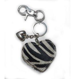 Giuliano Giuliano Tas,- Sleutelhanger Hart Zebra
