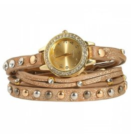 Horloge Armband Golden Brown