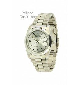 Philippe Constance Horloge Large Plain Silver