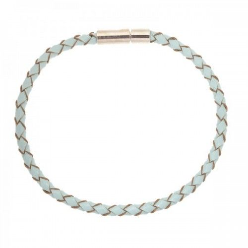 Armband Braided Licht blauw