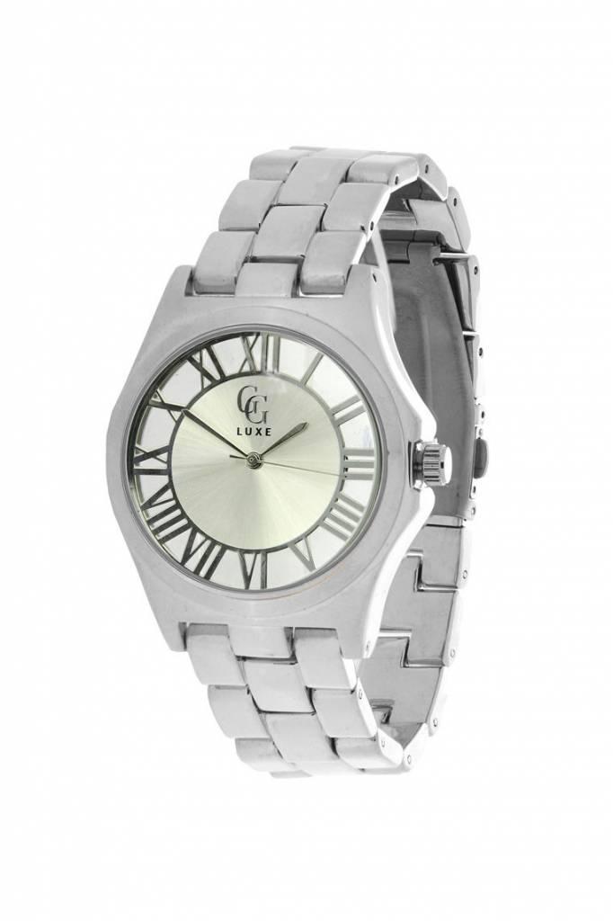 GG Luxe Horloges Trinity Zilver-Zilver