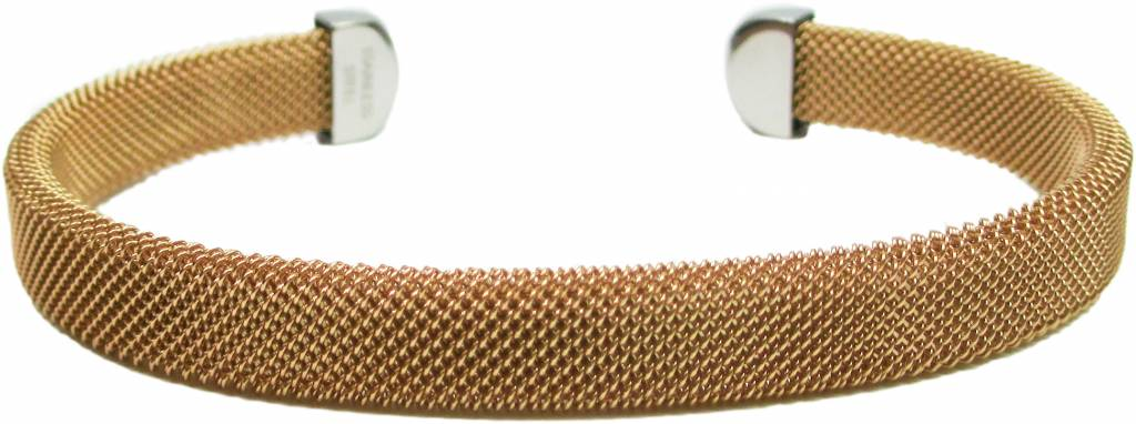 """B & L Armband """"Venice"""" - Gold - Stainless Steel 316L"""