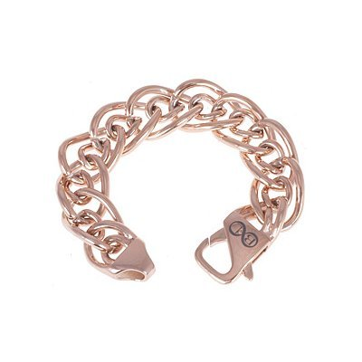 "B & L Stainless Steel Armband ""Dallas"" Rose"