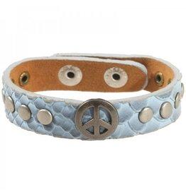 Bracelet Sue Light Blue Peace