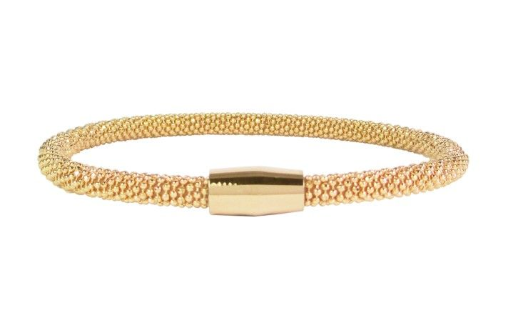 """B & L By Charmin's  Armband """"Malmo"""" Gold - Stainless Steel 316L"""