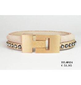 B & L Lederen Armband 4024