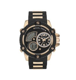 Colori Horloge Electric Collection - Anadigi Black Strap 5-CLD096