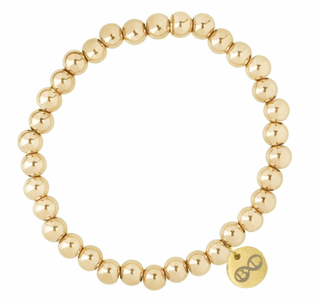 """B & L Armband """"Luik"""" -Gold - Stainless Steel 316L"""