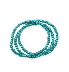 Sazou Jewels Glasparel Armband Petrol