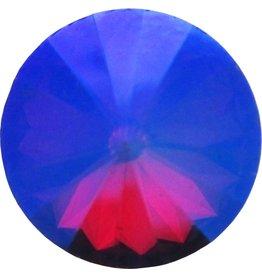 Ohlala Twist Stone Crystal Vitrail Fuchsia