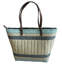 Strandtas / Shopper Light Blue