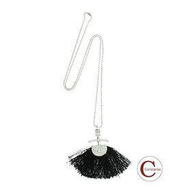 Constansa Ketting Black Brush