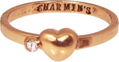 KIDZ CHARMIN*S Love HEART & DIAMOND ROSE WHITE KR54
