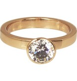 Charmin's XL ROUND DIAMOND ROSE XL72