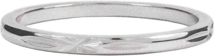 Charmin's CROSS STRIPE SHINY STEEL R310