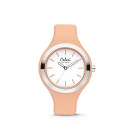 Colori - Macaron Horloge Macaron Light Orange - 5-COL435
