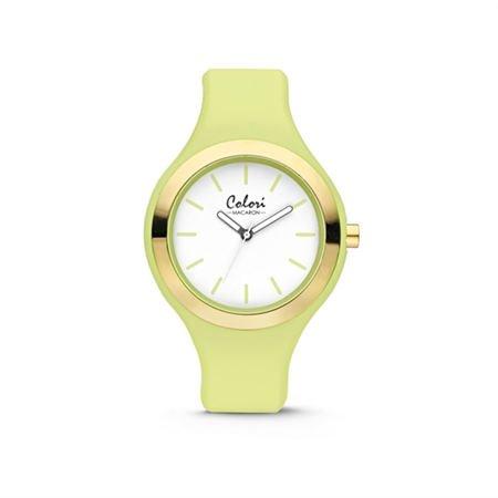 Colori - Macaron Horloge Macaron Light Green - 5-COL434