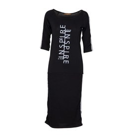 Fame Fashion Black Dress Inspire