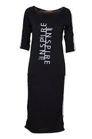 Fame Fashion Black Dress Inspire