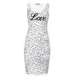 C & S Paris T Shirt Jurk Love