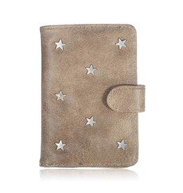 Paspoort Case Star Light Brown