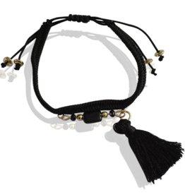 Sazou Jewels Armband Black Brush