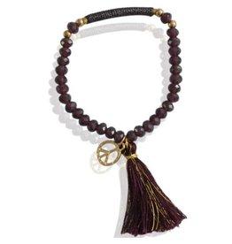 Sazou Jewels Armband Peace Purple
