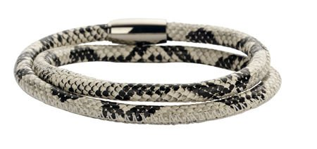 New Bling Armband Slangenleer