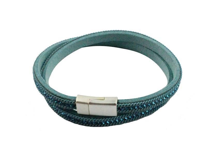 Armband Wikkel Blue