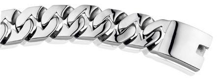New Bling Armband Gourmet Fantasie Edelstaal (RVS)