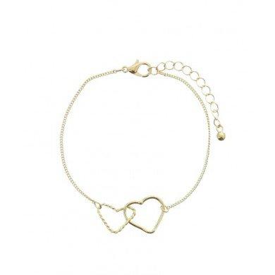 A-Zone Armband Golden Hearts