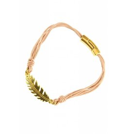 Armband Feather Light Pink