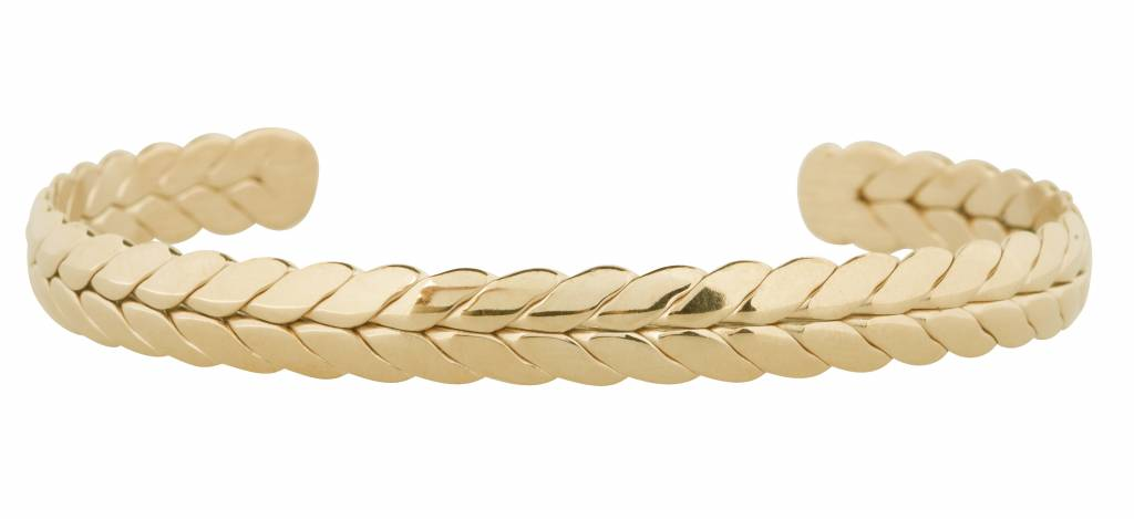 """B & L Armband """"Verona"""" - Gold - Stainless Steel 316L"""
