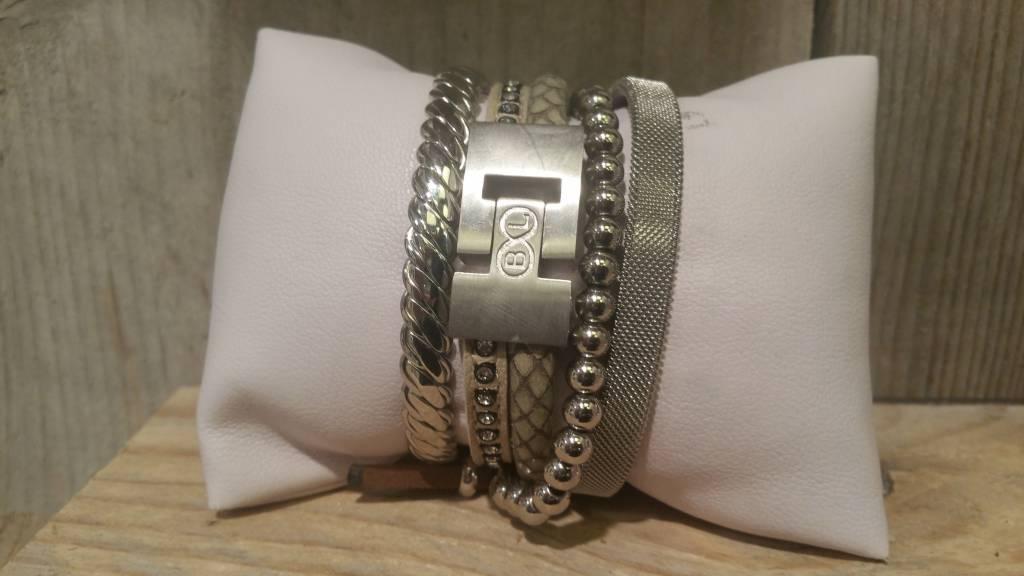"B & L Armband ""Brugge"" - Silver"